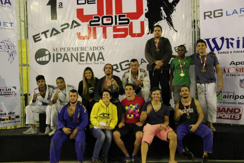 ACT venceu no 1ª etapa do Circuito Mairiporã de Jiu-Jitsu